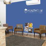 Sala espera HealthClin